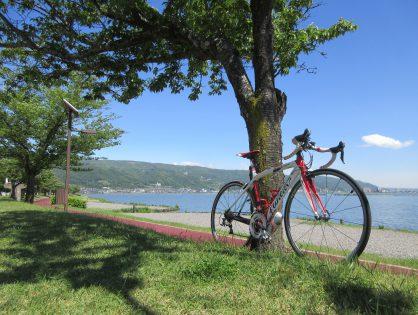 超サイクリング日和ですね!