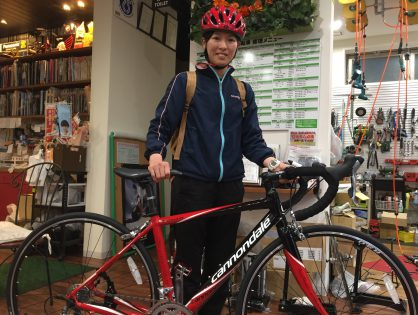 お祖父様の形見の自転車  春  出会いと別れ