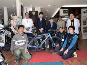 5月28日 13時55分から SBC放送局「ずくだせTV」にサイクリストマツザワ登場!
