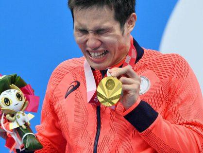 色を聴く  木村敬一選手が初の金 パラ100mバタフライ  今大会2個目メダル 表彰台での大粒の涙のわけ••••