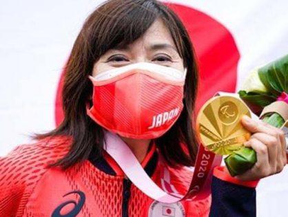 パラリンピック 自転車 50歳の金メダル